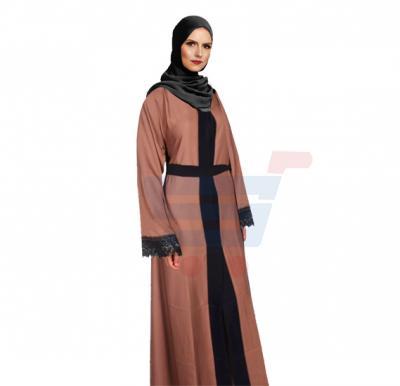Ayishas Nida Colour Burnt Black & Brown Color, ABY-8