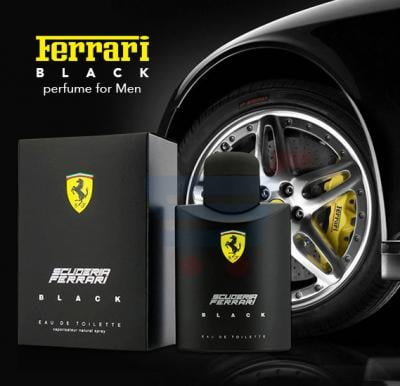 Ferrari Black Perfume 100ml For Men