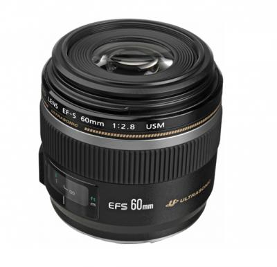 Canon EF- S 60mm F2.8 Macro USM Digital Lense- Black