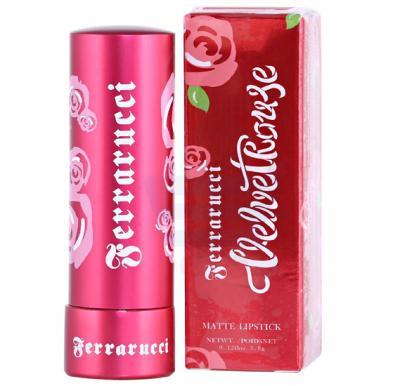 Ferrarucci Velvet Rouge Lipstick 3.8g, Runway Brown