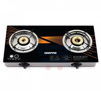 Geepas Double Burner Gas Cooker -GK6879FFD