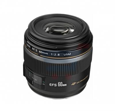 Canon EF- S 60mm F2.8 Macro USM Digital Lense- Black