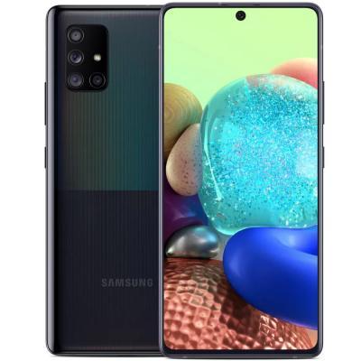 Samsung Galaxy A71 Dual SIM 8GB RAM 128GB, 5G, Prism Cube Black