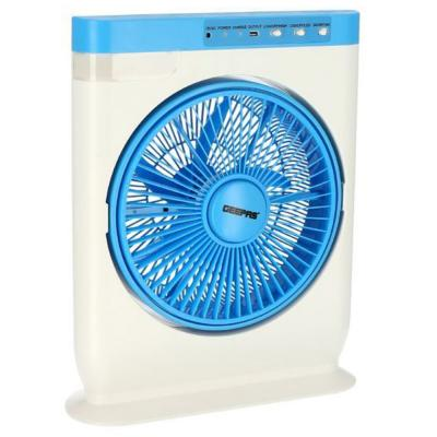 Geepas GF919 12 Inch Box Fan With Stand