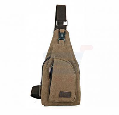 Cross Body travel Bag For Men Khaki
