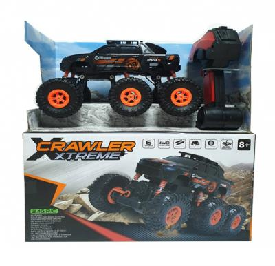 6 Wheel 4D R/c Climbing Car Rechargeable