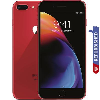 Apple iPhone 8 Plus, 3GB RAM 256GB Storage 4G LTE, Red, Refurbished