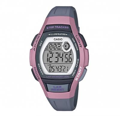 Casio Resin Band Watch, LWS-2000H-4AVDF