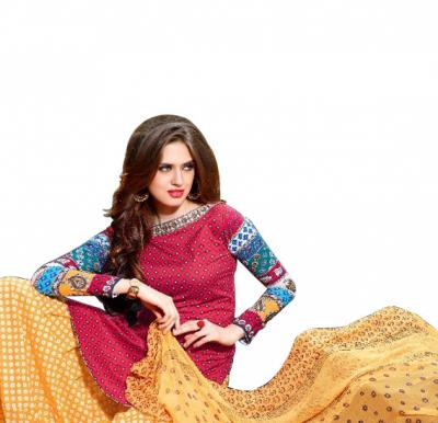 Maskeen 2905 Cotton Embroidery Suit