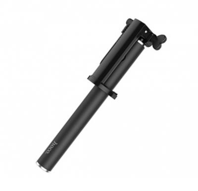 Hoco K5 Neoteric Wire Controllable Selfie Stick, Black