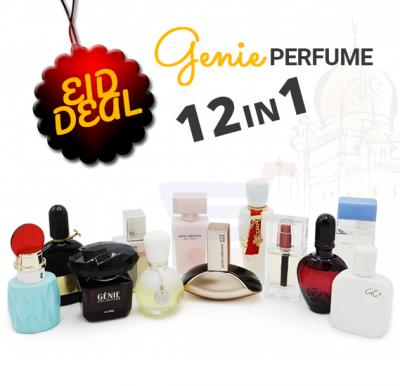 Genie 12 In 1 Assorted Perfume Deal