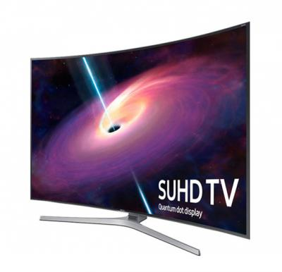 SAMSUNG  55 INCH  Curved 4K SUHD Smart TV Class JS9000 9-Series