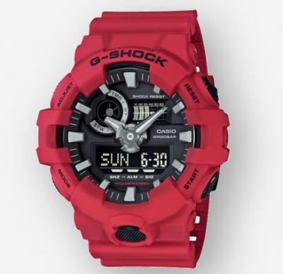 Casio G-shock Digital Analog Watch, GA-700-4ADR