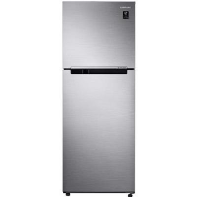 Samsung 390 Ltr Top Mount Refrigerator, Digital Invertor Motor, RT39K500JS8, Silver