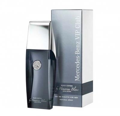 Buy mercedes benz vip club black leather for men 100ml for Buy mercedes benz accessories online