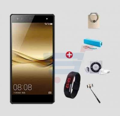 Bundle Offer! Hotwav Cosmos V5 Smartphone,Android 5.1,5.5 Inch HD Display,2GB RAM,16GB Storage,Dual Camera,Dual Sim,Wifi-Black+Wrist Band Watch+Selfie Stick+MP3 Player+Power Bank+Mobile Grip FREE!!!