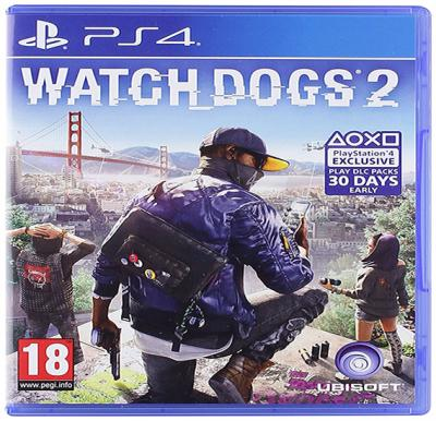 Ubisoft Watchdog 2 For PS4