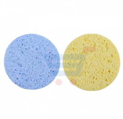 Round Face Makeup Remover Cellulite Sponge Set of 2