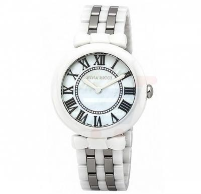 Nina Ricci Stainless Steel Case Watch For Women - N NR054003