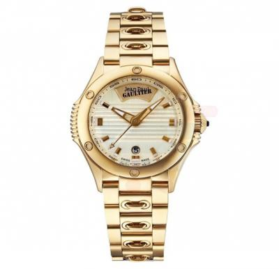 Jean Paul Gaultier Swiss Made Men Gold Watch - JPG0101008