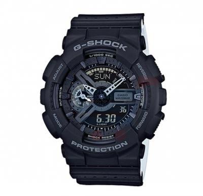 Casio G-Shock Watch For Men, Magnetic Resistant-Black-GA-110LP-1ADR