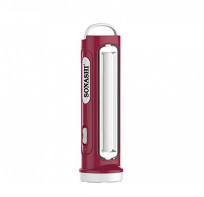Sonashi 2 In 1 Rechargeable Led Torch With Lamp Maroon, SPLT-108