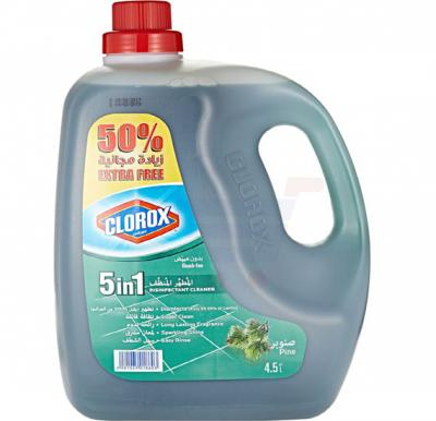 Clorox 5 in 1 Disinfectant Pine Cleaner 4.5L