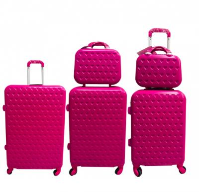 5 Piece  Luggage Trolley Set (28, 24, 20, 14 and 12 Inch)