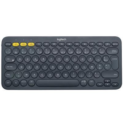Logitech K380 Multi-Device Bluetooth Keyboard, French, Dark Grey