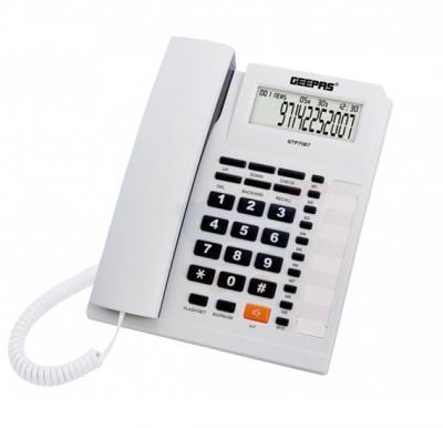 Geepas Home Appliances Telephone - GTP7187