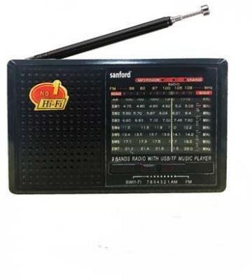 Sanford Portable Radio 9 Band - SF1030PR BS