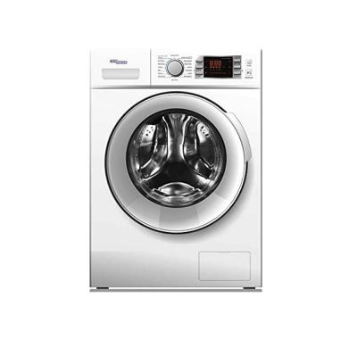 Nikai Super General 8 kg Front-Loader Washing Machine, SGW 8400CRMS/1400 RPM/LED Display/Energy-efficient/Silver/16 Programs/ESMA 5 Star