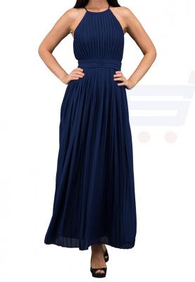 TFNC London Serene Maxi Dress Navy - 5508 - M