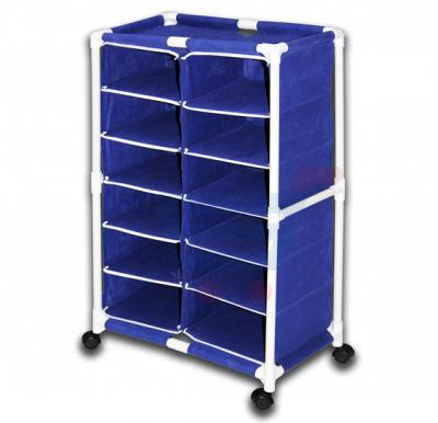 In-House Double 6 Layer Shoe Rack - Blue SR-8609