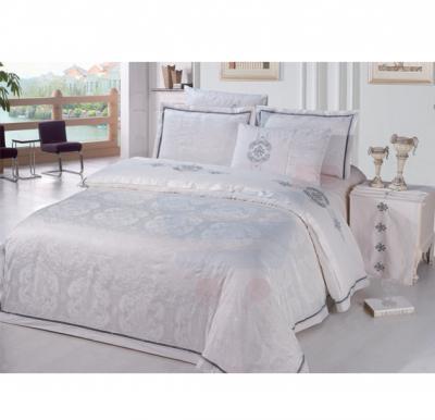 Senoures 100% Cotton Jacquard Quilt Cover 6Pcs Set King - SEJ-052