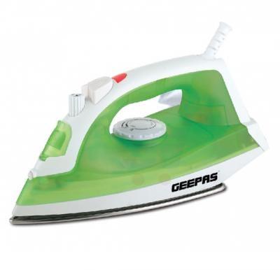 Geepas 1600W  Steam Iron Dry Spray Steam, GSI7783