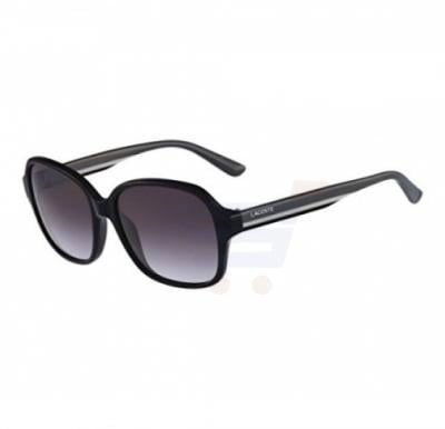 Lacoste Square Black & Grey Frame & Gradient Mirrored Sunglasses For Woman - L735S-001
