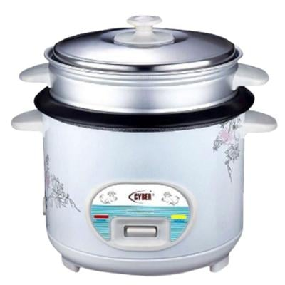 Cyber Multi-Functional Automatic Rice Cooker 1.6 Liter CYRC-7173 White