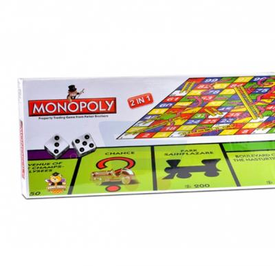 Brain Games Monopoly 2 in 1
