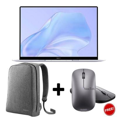 Huawei Matebook X Silver Frost, Euler-W19D With Matebook Bag And Mouse For Free