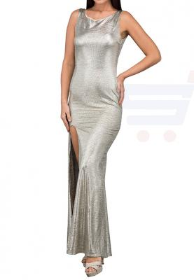 TFNC London Fatima Maxi Evening Dress Gold - ANT 43870 - L