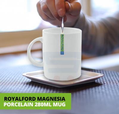 RoyalFord Magnesia Porcelain 280Ml Mug, RF8018