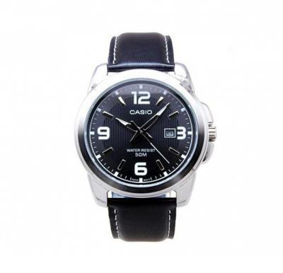 Casio LTP 1314L 8AVDF Leather Digital Quartz Watch
