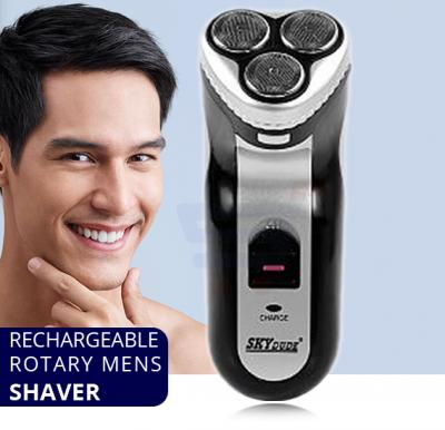 Rechargeable Rotary Mens Shaver With Pop-up Trimmer - SY-100