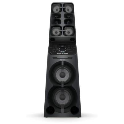 Sony Muteki Hi Power Party Speaker All-In-One Music System with Lighting Effects MHC-V90DW, Black