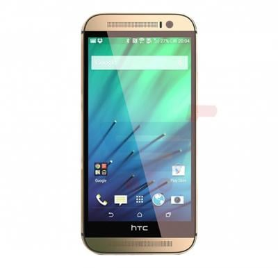 HTC One M8 Smartphone,  Android OS, 5.0 Inch Full HD Display, 2GB RAM, 32GB Storage, Bluetooth, WiFi, Quad-core, Dual Camera - Gold
