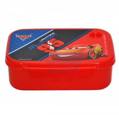Cars McQueen Lunch Box With Air Hole On The Lid LB -  CMQT07175