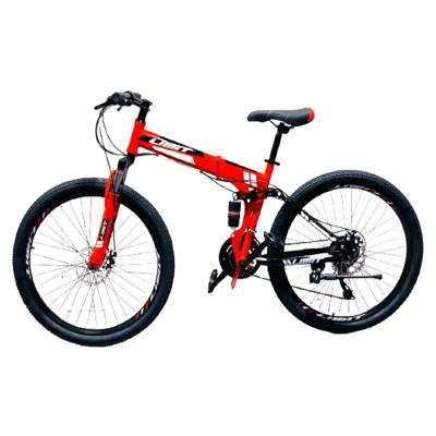 Limit Sport Foldable Bicycle 26 Inch Red