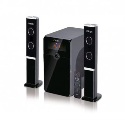 Clikon 2.1 Multimedia Tower Type Speaker With Bluetooth / USB / SD / DIGI , CK821