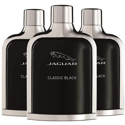 3 in 1 Super Saver Pack of Jaguar Classic Black Perfume 100 ML